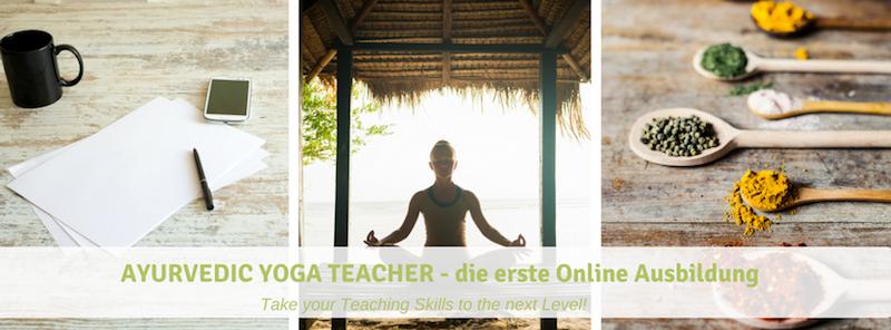 Online Ayurveda Ausbildung Banner