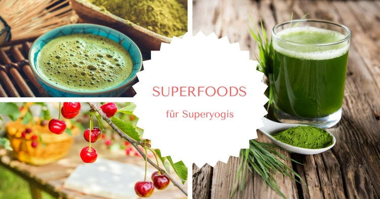 Superfoods fuer Yogis