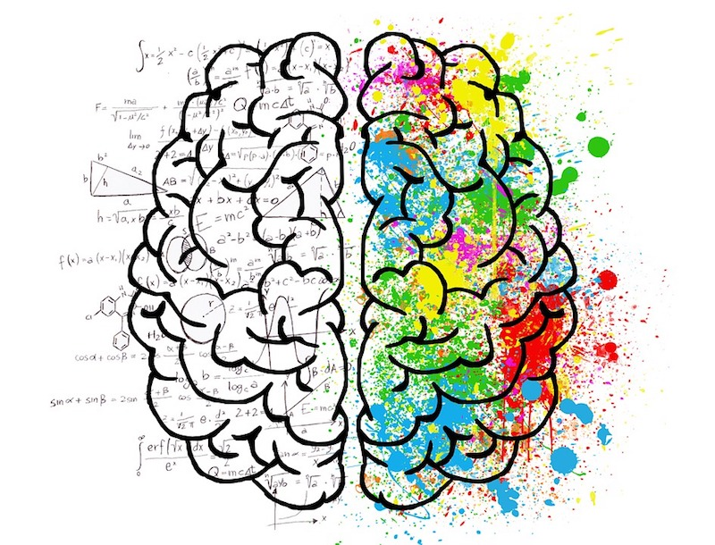 Yoga und Dharana Gehirn