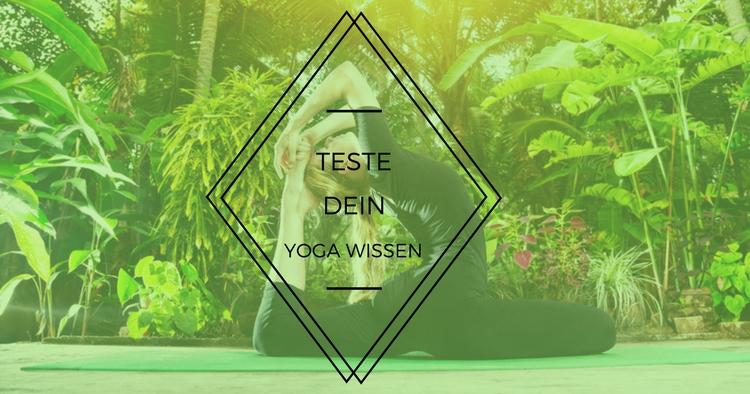 Yoga Wissen