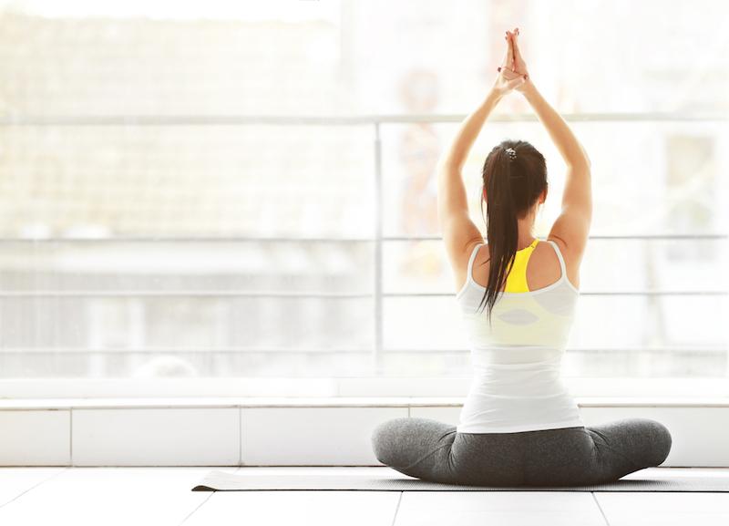 Yoga Regeln Schneidersitz