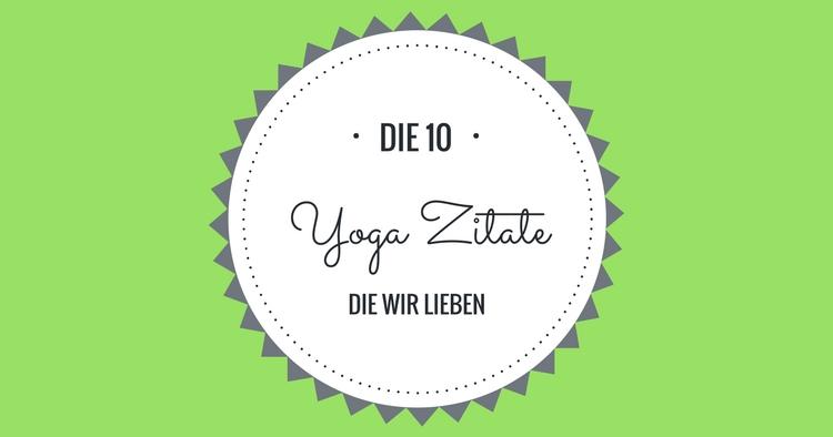 Yoga-Zitate