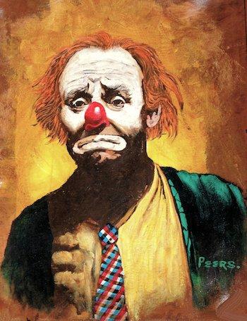 Tagebuch-Yogalehrer-Clown