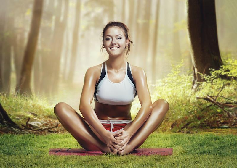 Mythen-Meditation-Frau-Wald