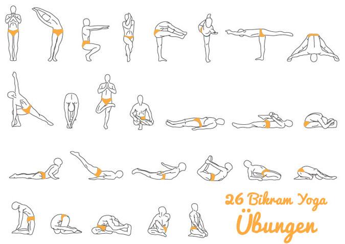 Du willst mehr Yoga machen? Versuch es doch mal mit Bikram Yoga.