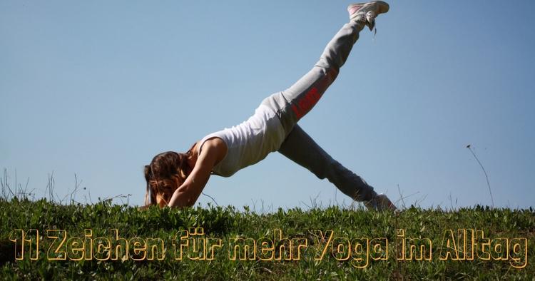 Mehr Yoga machen