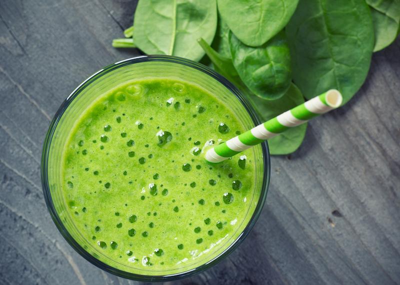 Frühlingsdrinks: Grüne Vitaminbombe