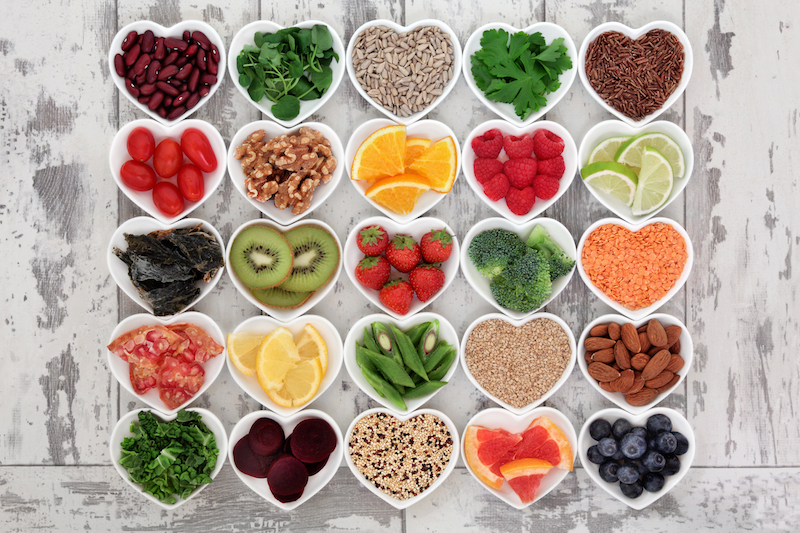 """Die Auswahl und """"guten"""" Superfood ist riesig, denn grüne Lebensmittel sind nur ein kleiner Teil davon."""