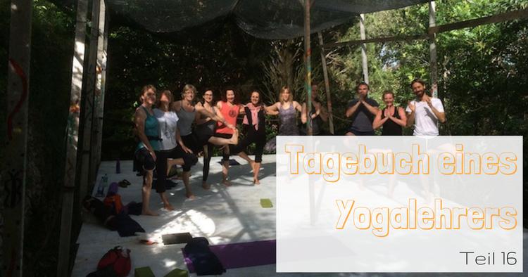 Bens Tagebuch eines Yogalehrers geht weiter.