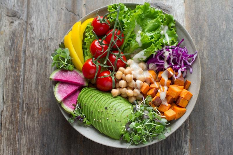 Sattva Nahrung: Frische, regionale und vegetarische Kost stärkt dein Sattva.